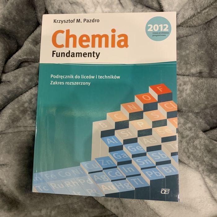 Chemia fundamenty podręcznik Pazdro Zgierz - image 1