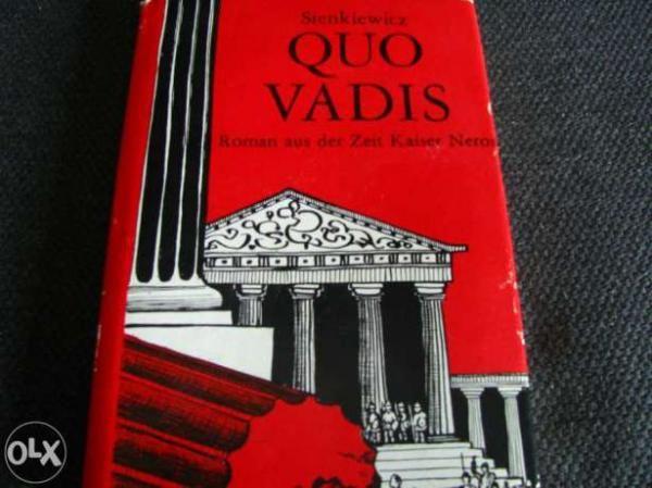 Sienkiewicz - Quo Vadis - (em Alemão)