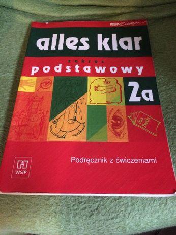 Alles klar 2a zakres podstawowy + płyta CD