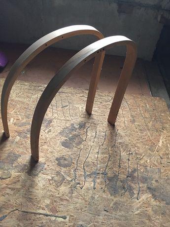 Drewniane ramy dla fotela