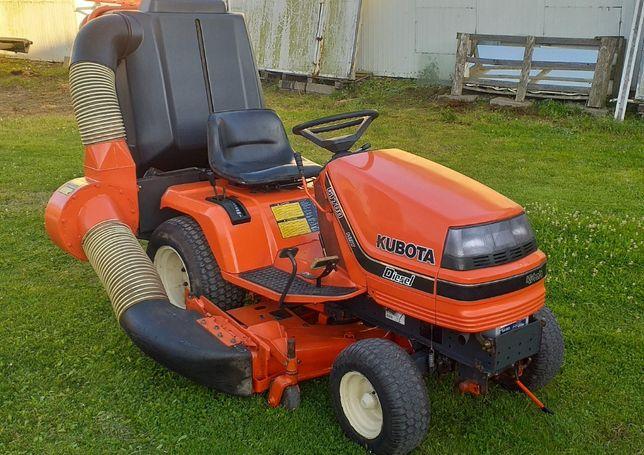 Kosiarka traktorek Kubota G1700 diesel 17KM