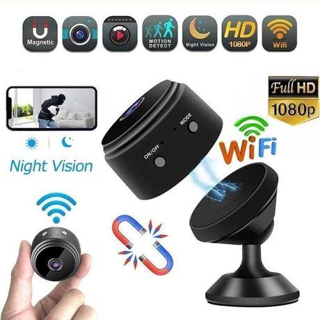 Мини камера A9 IP WiFi 1080P Full HD ночного видения с магнитом