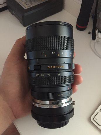 Tokina 35-105mm 3.5 macro + adaptador M4/3