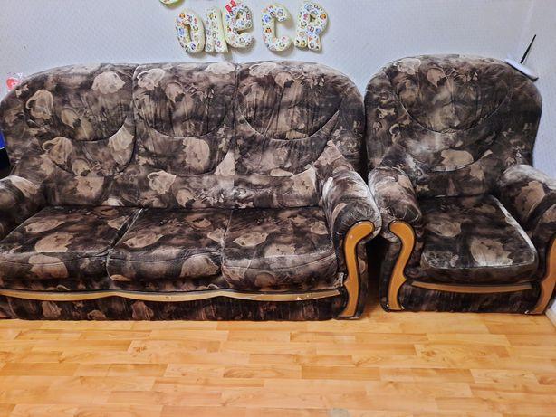 СРОЧНО!!! Диван + 2 кресла