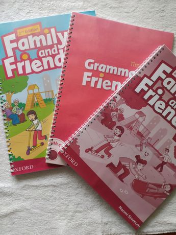 Family and Friends 2nd Edition все уровни