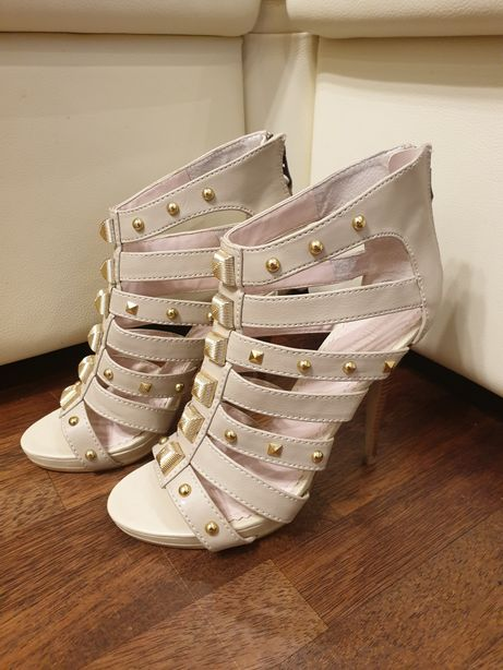 Sandałki na obcasie,Victoria Secret...Colin Stuart