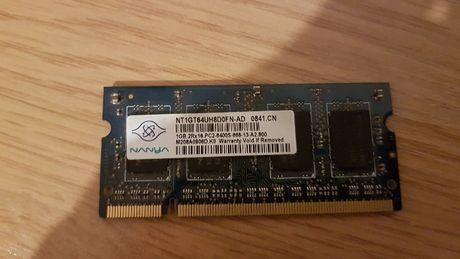 Pamięć Nanya Ram 1GB PC2 6400S 800 laptop