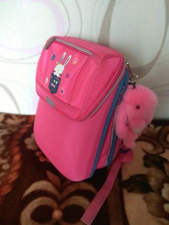ZIBI Школьный шкільний ранец каркасный рюкзак девочке розовый Pink