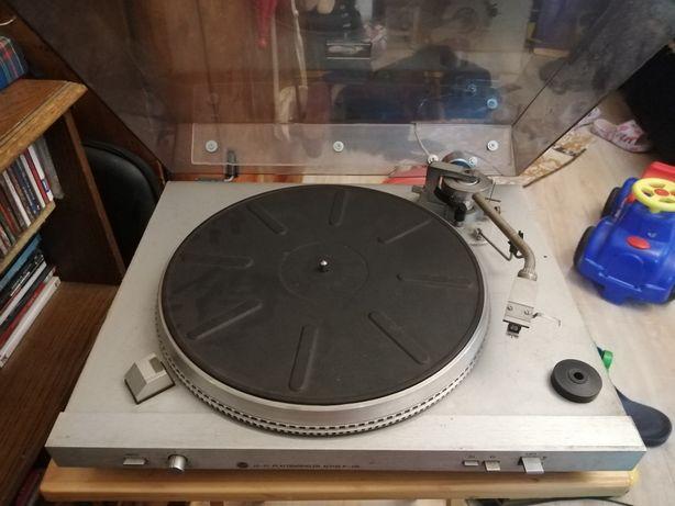 Gramofon unitra srebrny