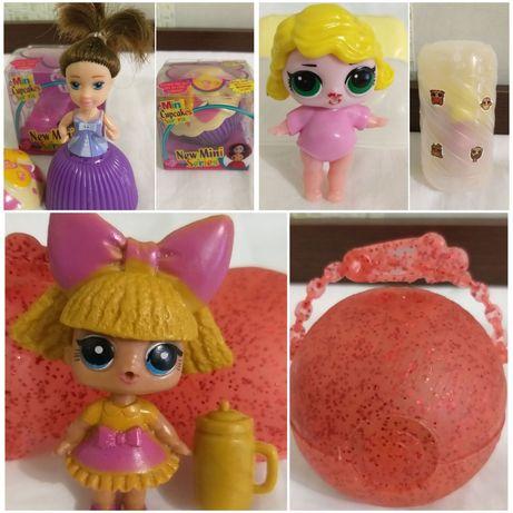 Куколки лол и кекс