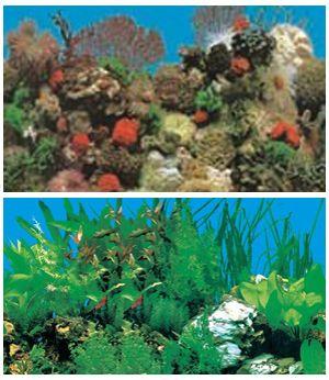 Фоны в аквариум высотой 30 см