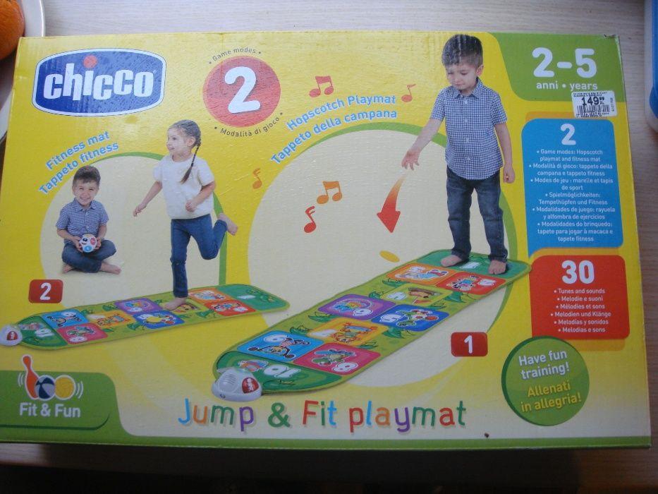 Chicco mata jump & fit playmat idealna jak nowa zabawka w klasy Białystok - image 1