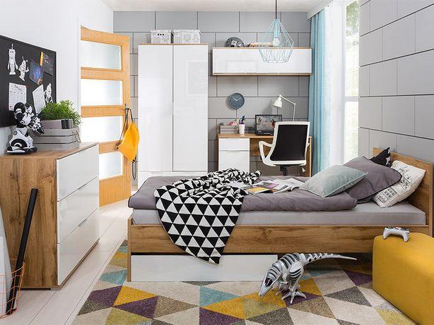 Детская комната: шкаф, стол, кровать, комод, полка. Доставка бесплатно