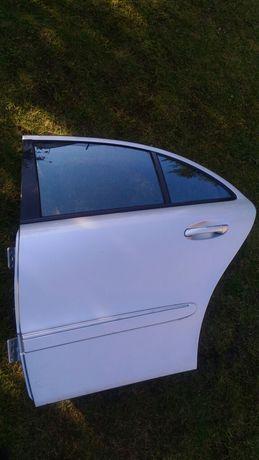 Mercedes w211 drzwi tylne lewe kompletne