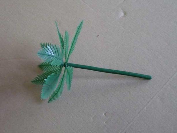 Palmeira de plástico para terrários