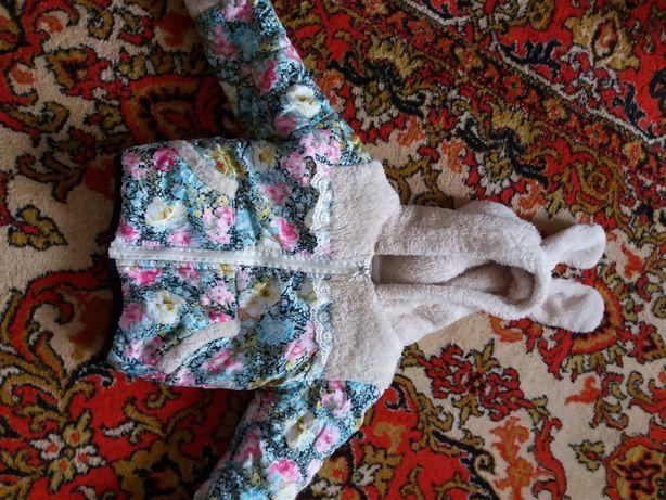Класна курточка весна осінь 1-2 роки / модная куртка для девочки