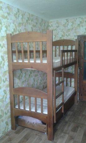 Кровать двухярусная детская двухэтажная двухуровневая спальное место