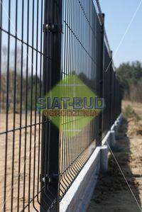 Panel ogrodzeniowy, h-1,23m, fi-4mm, 5x20 panele, ogrodzenie panelowe
