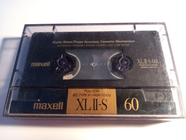 Kaseta magnetofonowa Maxell XL II-S 60