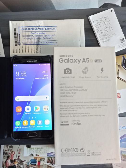 Продам смартфон Samsung Galaxy A5 2016 Херсон - изображение 1