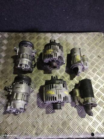 Bmw 320d e 520d 150cv (M47 e M47T) - alternador, motor arranque, compressor de ac.