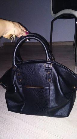 Torebka torba damska czarna Atmosphere
