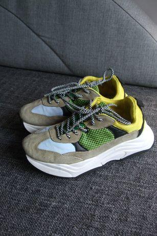 Buty Topshop sneakersy na grubszej podeszwie platforma rozmiar 36