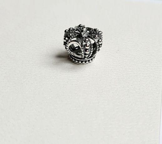 Charms korona srebro próba 925 do Pandora,Apart,Yes