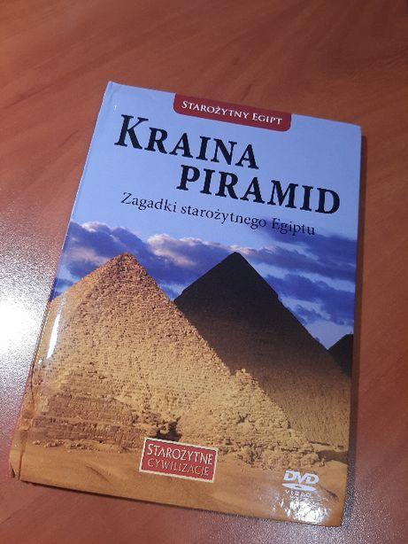 Kraina Piramid. Zagadki starożytnego Egiptu - książeczka + płyta DVD