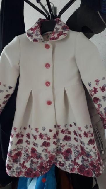 Пальто для дівчинки весна/осінь