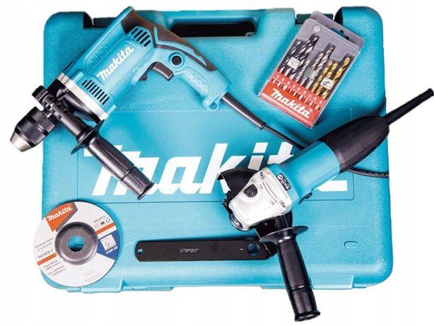 MAKITA Zestaw DK 0050 HP1631 + szlifierka GA5030R SUPER CENA!