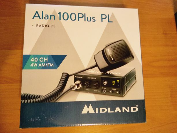 CB radio Alan 100 PLUS nowe