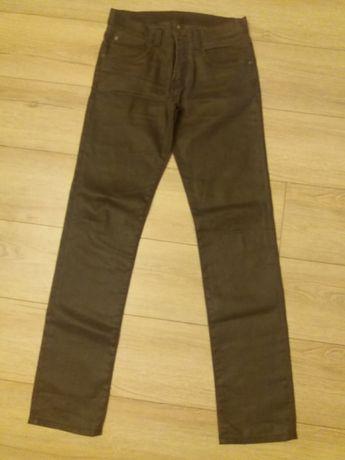 Spodnie jeansowe eleganckie Zara Man Slim