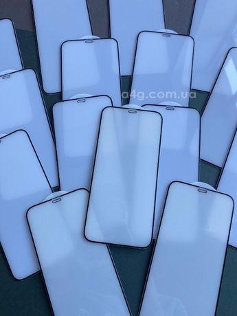 Защитное стекло 9d/9д для Apple iPhone 12/12 Pro/12 Mini/ 12 Pro Max