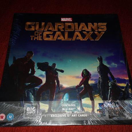 Strażnicy galaktyki blu-ray fajne wydanie