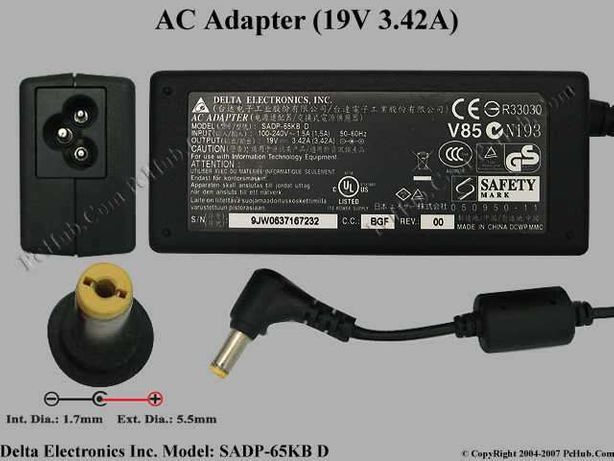 Adaptador Ac V85