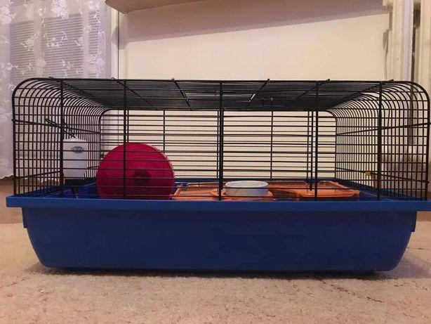 Klatka dla chomika/szczurka cała wyprawka całe wyposażenie zestaw