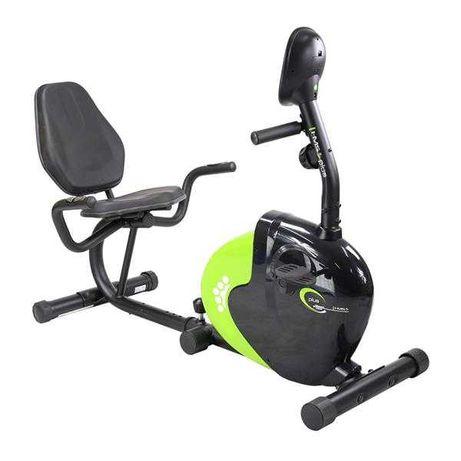 Rowerek magnetyczny R9259 PLUS POZIOMY / czarno-zielony