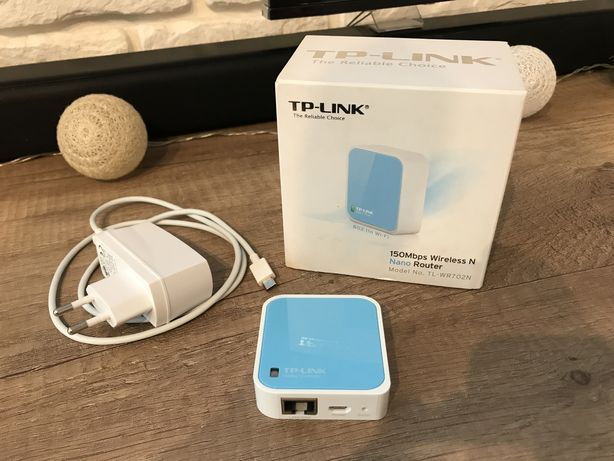 Nano router TP-LINK 150mbps TL-WR702N