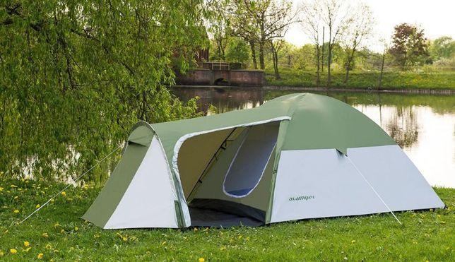 2-х слойная! Палатка 3-х местная Acamper MONSUN 3 PRO 3500 мм. Польша