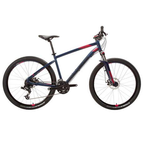 Bicicleta BTT ROCKRIDER ST 520 Mulher  Azul/Rosa ( Travão de Disco)