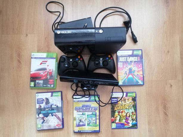 Konsola Xbox 360 KINECT + 2 Pady