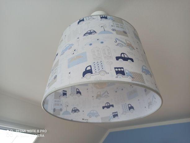 Lampa sufitowa z żarówką LED