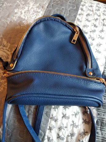 Mini plecak jak nowy