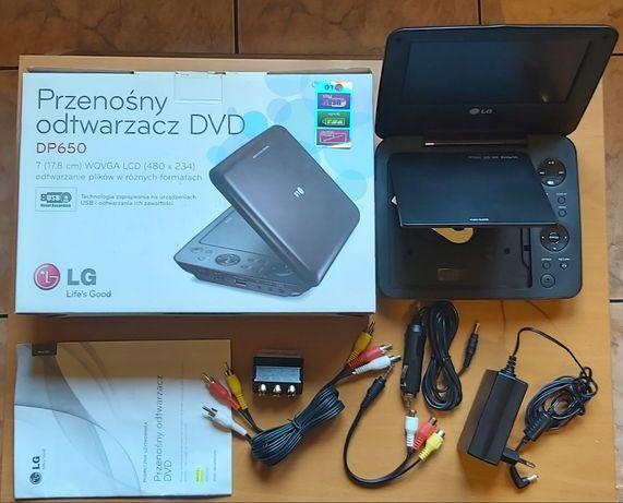 """Przenośny odtwarzacz DVD LG DP650 7"""""""