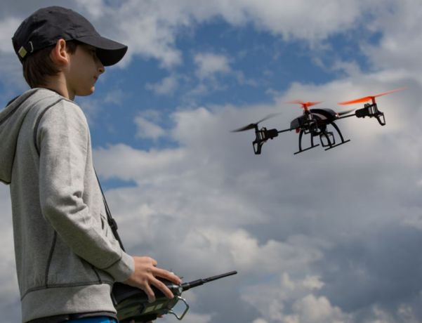 Animação de Festas com Drone