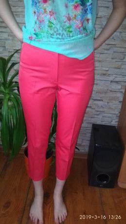 Spodnie eleganckie na kant plus bluzka r. 40