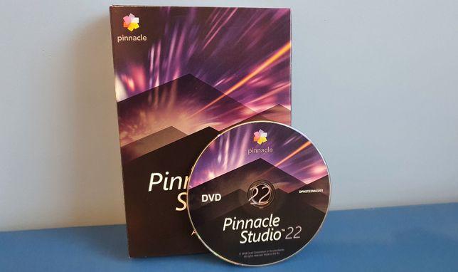 Program do edycji wideo Pinnacle Studio 22 Ultimate PL BOX dożywotnia