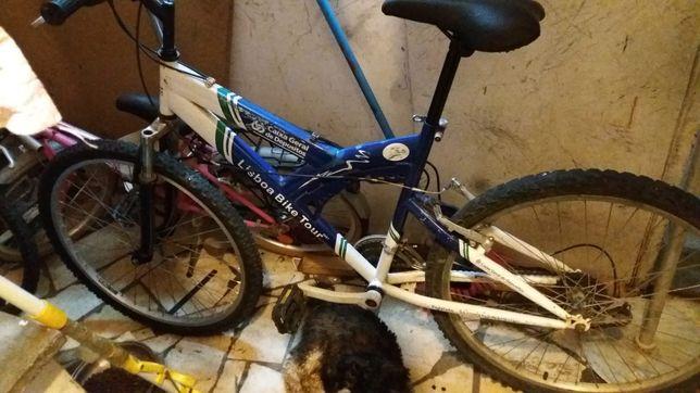 Bicicleta Roda 26 com Amortecedores Frontais