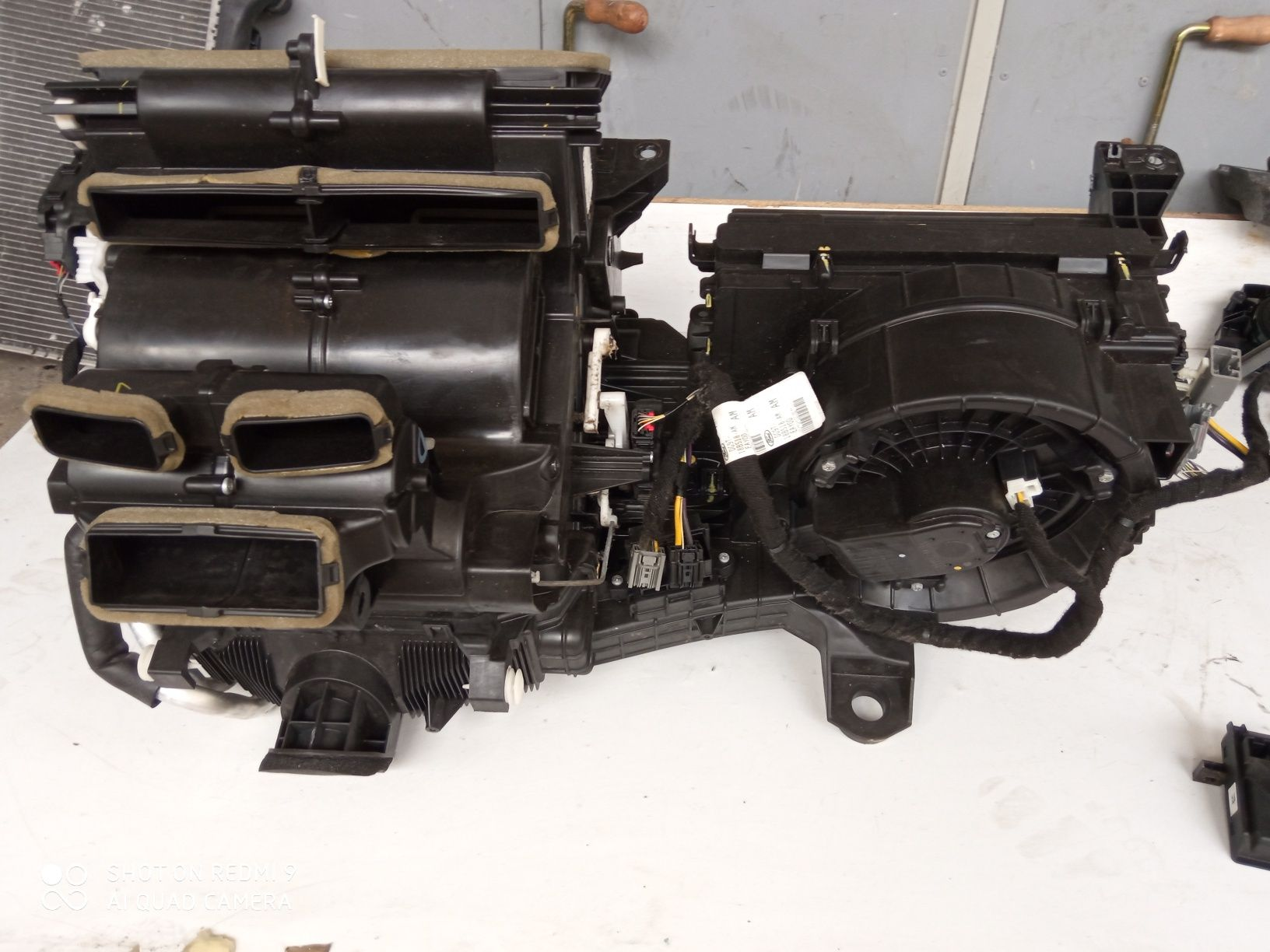 Nagrzewnica Ford Mondeo MK5 Fusion Hybryda klimatronik